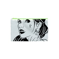 Woman Wth Hat 720 Cosmetic Bag (xs)