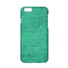 Green Denim Apple Iphone 6/6s Hardshell Case