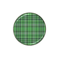 Green Plaid Hat Clip Ball Marker (4 Pack) by snowwhitegirl