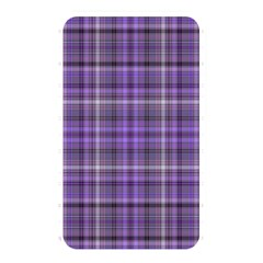 Purple  Plaid Memory Card Reader (rectangular)