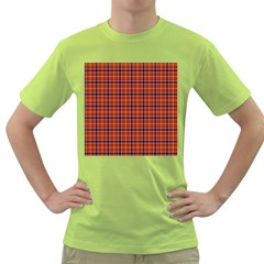 Red Yellow Plaid Green T Shirt