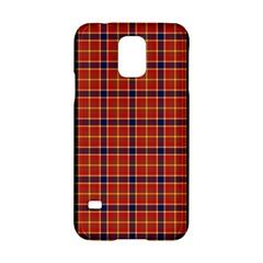 Red Yellow Plaid Samsung Galaxy S5 Hardshell Case