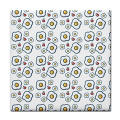 Eggs White Face Towel by snowwhitegirl