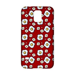 Eggs Red Samsung Galaxy S5 Hardshell Case  by snowwhitegirl