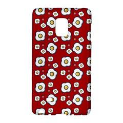 Eggs Red Samsung Galaxy Note Edge Hardshell Case