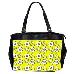 Eggs Yellow Oversize Office Handbag (2 Sides)