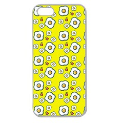 Eggs Yellow Apple Seamless Iphone 5 Case (clear)