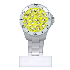 Eggs Yellow Plastic Nurses Watch