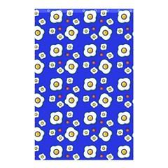 Eggs Blue Shower Curtain 48  X 72  (small)