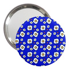 Eggs Blue 3  Handbag Mirrors