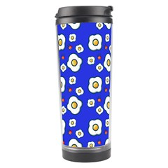 Eggs Blue Travel Tumbler