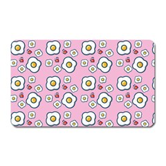 Eggs Pink Magnet (rectangular)
