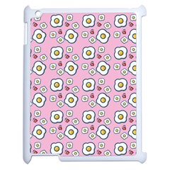 Eggs Pink Apple Ipad 2 Case (white)