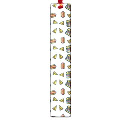 Fast Food White Large Book Marks