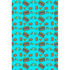 Fast Food Blue 5 5  X 8 5  Notebook