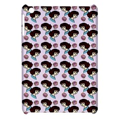 Redhead Girl Pink Apple Ipad Mini Hardshell Case