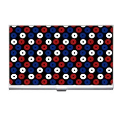 Eye Dots Red Blue Business Card Holders