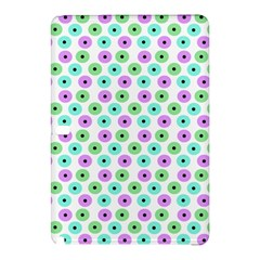 Eye Dots Green Violet Samsung Galaxy Tab Pro 12 2 Hardshell Case