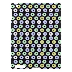 Eye Dots Grey Pastel Apple Ipad 3/4 Hardshell Case