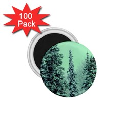 Winter Trees 1 75  Magnets (100 Pack)