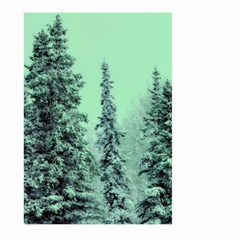 Winter Trees Large Garden Flag (two Sides)