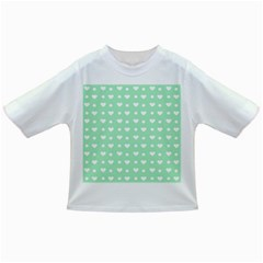 Hearts Dots Green Infant/toddler T Shirts