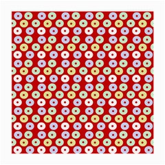 Eye Dots Red Pastel Medium Glasses Cloth