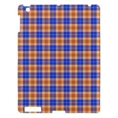 Orange Blue Plaid Apple Ipad 3/4 Hardshell Case