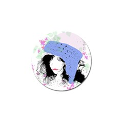 Girl With Hat Golf Ball Marker (10 Pack)