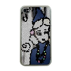 Pixie Girl Stained Glass Apple Iphone 4 Case (clear)