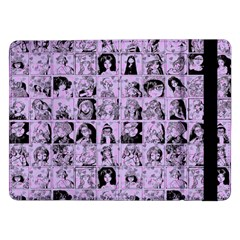 Lilac Yearbok Samsung Galaxy Tab Pro 12 2  Flip Case