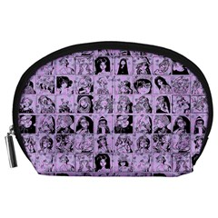 Lilac Yearbok Accessory Pouch (large) by snowwhitegirl