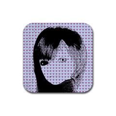 Heartwill Rubber Coaster (square)  by snowwhitegirl