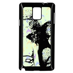 Mint Wall Samsung Galaxy Note 4 Case (black)