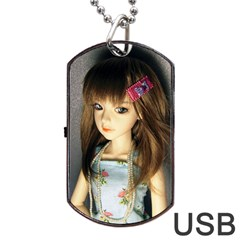 Mary Dog Tag Usb Flash (two Sides)
