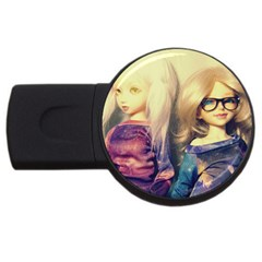 Galaxy Gals Usb Flash Drive Round (2 Gb)