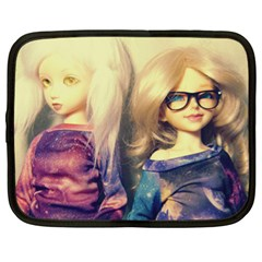 Galaxy Gals Netbook Case (xl) by snowwhitegirl