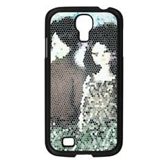 Dolls Stained  Glass Samsung Galaxy S4 I9500/ I9505 Case (black)