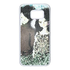Dolls Stained  Glass Samsung Galaxy S7 White Seamless Case