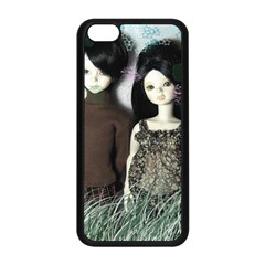 Dolls In The Grass Apple Iphone 5c Seamless Case (black)