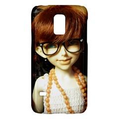Red Braids Girl Samsung Galaxy S5 Mini Hardshell Case