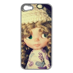 Cute Doll Apple Iphone 5 Case (silver)