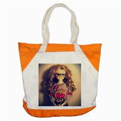 Eating Sushi Accent Tote Bag