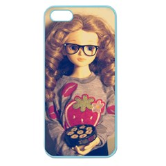 Eating Sushi Apple Seamless Iphone 5 Case (color)