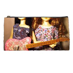 Playing The Guitar Pencil Cases