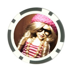 Cover Girl Poker Chip Card Guard (10 Pack)