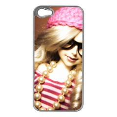 Cover Girl Apple Iphone 5 Case (silver)