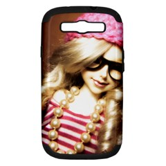 Cover Girl Samsung Galaxy S Iii Hardshell Case (pc+silicone)