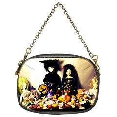 Old Halloween Photo Chain Purse (two Sides)