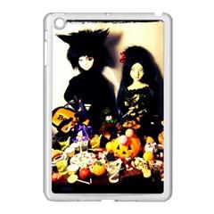 Old Halloween Photo Apple Ipad Mini Case (white)